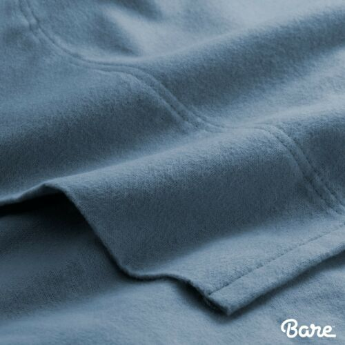 Double Brushed Extra Soft Heavyweight 100/% Cotton Velvet Flannel Sheet Set