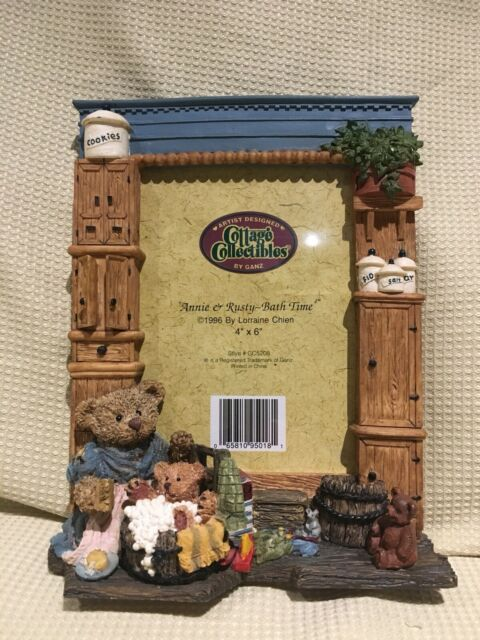 Ganz Cottage Collectibles Picture Frame Kathy Wally Playmates 4x6 Teddy Bear 96 For Sale Online Ebay