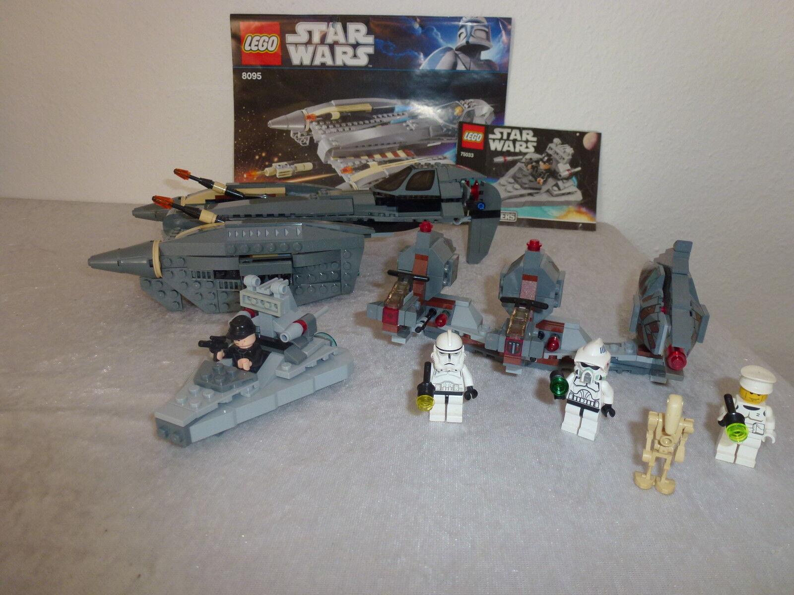 Lego Star Wars 8095 + 7957 + 75033  + OBA Rarität