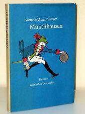 Gerhard Oberländer (Illustr.) - G. A. Bürger: Münchhausen