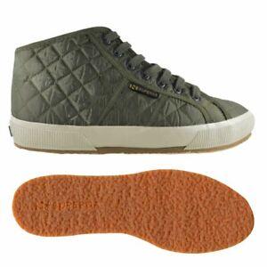 separation shoes 853d7 b53cb Dettagli su Superga Scarpe ginnastica Uomo Donna 2754-QUILTNYLU Medio  Tomaia imbottita