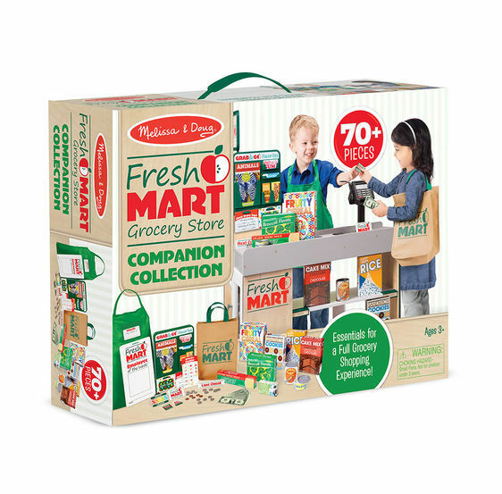 Melissa and Doug Fresh Mart Grocery Store Companion Collection - 15183 - NEW