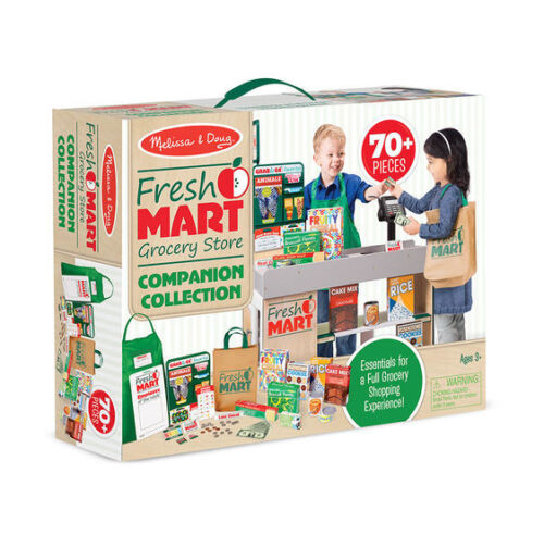 15183 Melissa and Doug Fresh Mart Grocery Store Companion Collection NEW!