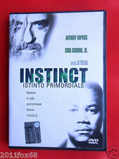 dvd,film,movie,instinct,istinto primordiale,anthony hopkins,donald sutherland,jr