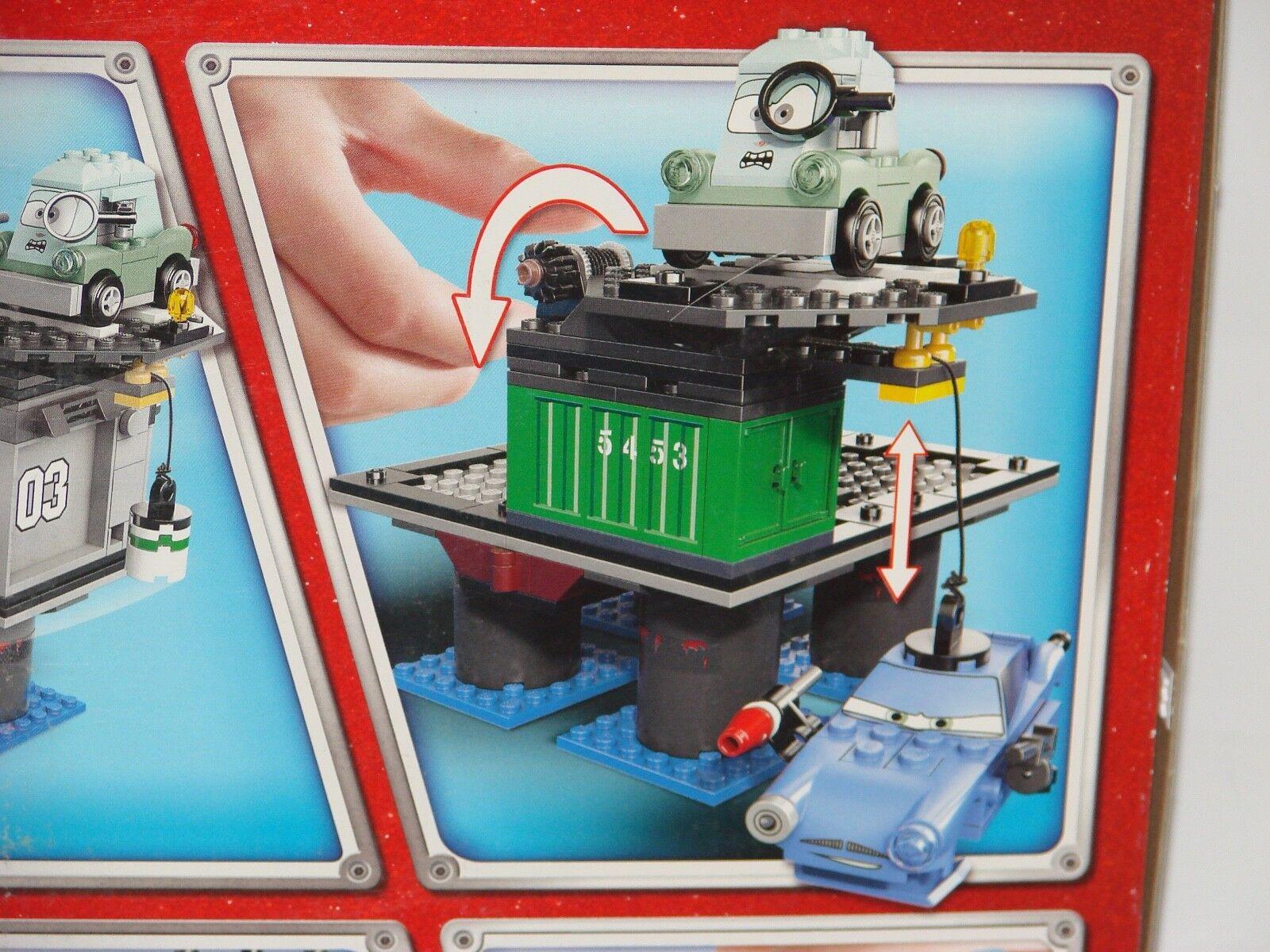 LEGO® CARS 9486 Flucht v d d d Ölbohrinsel NEU B-Ware_Oil Rig Escape MISB 2nd choice 3d1e46