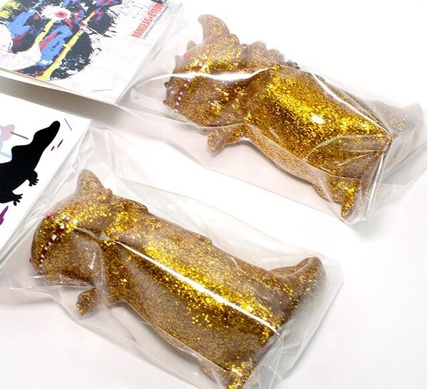 MEDICOM TOY Shoko Shoko Shoko Nakazawa Koraters Byron and Rangeas T9G gold Version Set 7b932c