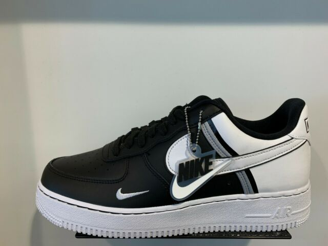 Nike Air Force 1 One Low LV8 Black White Black Grey Jock Tag Size 8 13 CI0061001