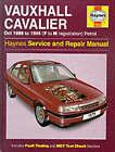 Vauxhall Cavalier ('88 to October '95) Petrol Service and Repair Manual by Steve Rendle (Hardback, 1988)