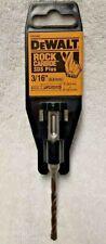 Dewalt Dw5402 316 X 2 X 4 Rock Carbide Sds Plus Hammer Bit