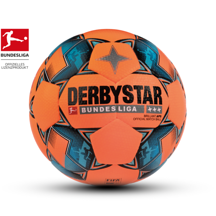Derbystar Fußball BUNDESLIGA BRILLANT APS Winter Official Matchball, Größe 5