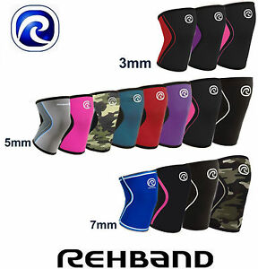 Kniebandage-Rehband-CrossFit-Knee-Support-3mm-5mm-7mm-RX-Line-Bandage-Gym