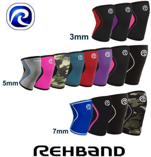 Kniebandage Rehband CrossFit Knee Support 3mm|5mm|7mm RX Line Bandage Gym