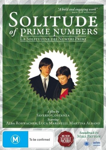 1 of 1 - The Solitude of Prime Numbers NEW R4 DVD