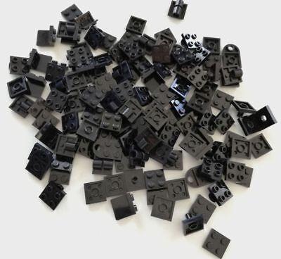 Rigoroso Lego 110x Piastre 2x2 Nero Lotto Plate Set Kg Sped Gratis Su + Acquisti
