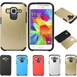 Slim-Fit-Hybrid-Shockproof-Hard-Case-Protective-Cover-Dual-Layer-Rubber-Skin