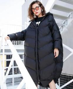 Løst varmjakke brødklæde Bomuldsstrøg Solid Kvinders vinterhætte 1nqaPwH6w