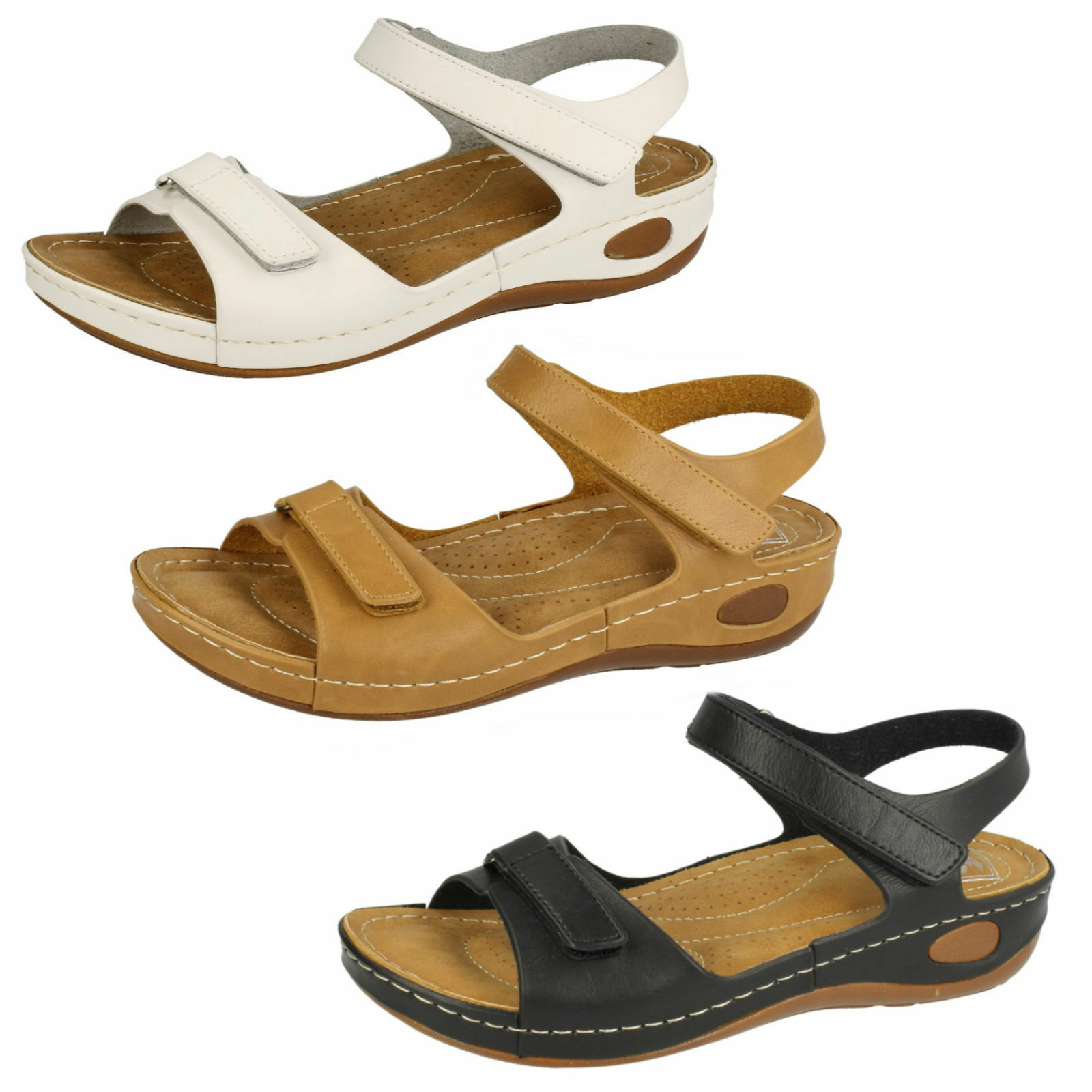 Gentlemen/Ladies LADIES DOWN leading TO EARTH SANDAL-F1R0450 Reliable quality Brand leading DOWN the fashion 287f69