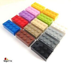 lego brique 2x4 nouveau 3001 couleur au choix et quantit ebay. Black Bedroom Furniture Sets. Home Design Ideas