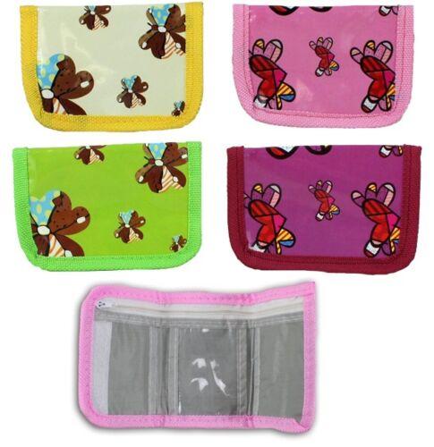 4 x porte-monnaie papillon motif 10 x 7 CM-Mitgebsel Enfants Anniversaire brocante