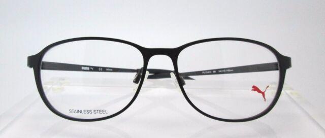 PUMA 15413 Black Eyeglass Frames Glasses Mens Womens | eBay