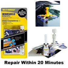 Car Windscreen Repair Kit DIY Chip Window Screen Crack Polishing Scratches