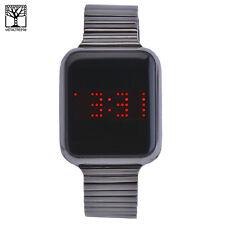 6f24a47385b7 Men s Fashion Techno Pave Digital Touch Screen Metal Band Watch WM 8473 Bk