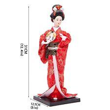 "9"" Japanese GEISHA Oriental Doll DOL9002-9"