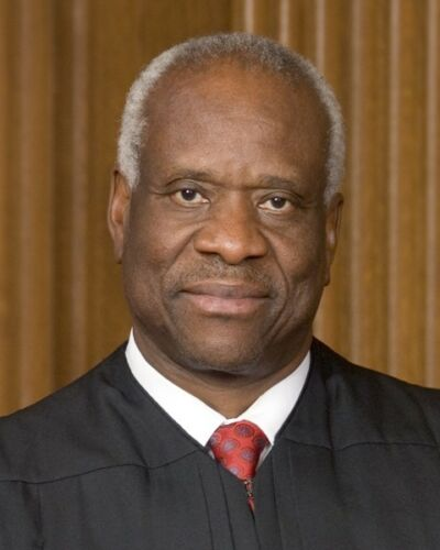 OFFICIAL PORTRAIT OF JUSTICE CLARENCE THOMAS 8X10 PHOTO SUPREME COURT