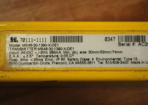 24vdc USED Transmitter Sti MS46-30-1390-X-DE1 Light Screen