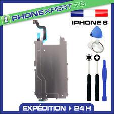 PLAQUE EN FER METAL CARTER ECRAN LCD IPHONE 6 AVEC NAPPE BOUTON HOME