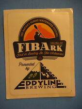 STICKER Beer      EDDYLINE Brewing ~ First In Boating on the Arkansas River Fest