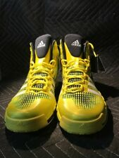 c722abf7d2b74 Adidas adiPure CrazyQuick Mens Size 11 Basketball Shoes Yellow Black ART  Q33299