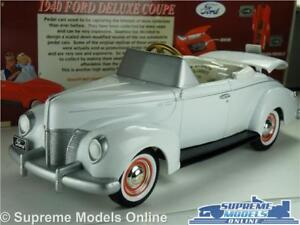 FORD-DELUXE-COUPE-1940-MODEL-CAR-1-24-SCALE-GEARBOX-69503-PEDAL-CAR-AMERICAN-K8