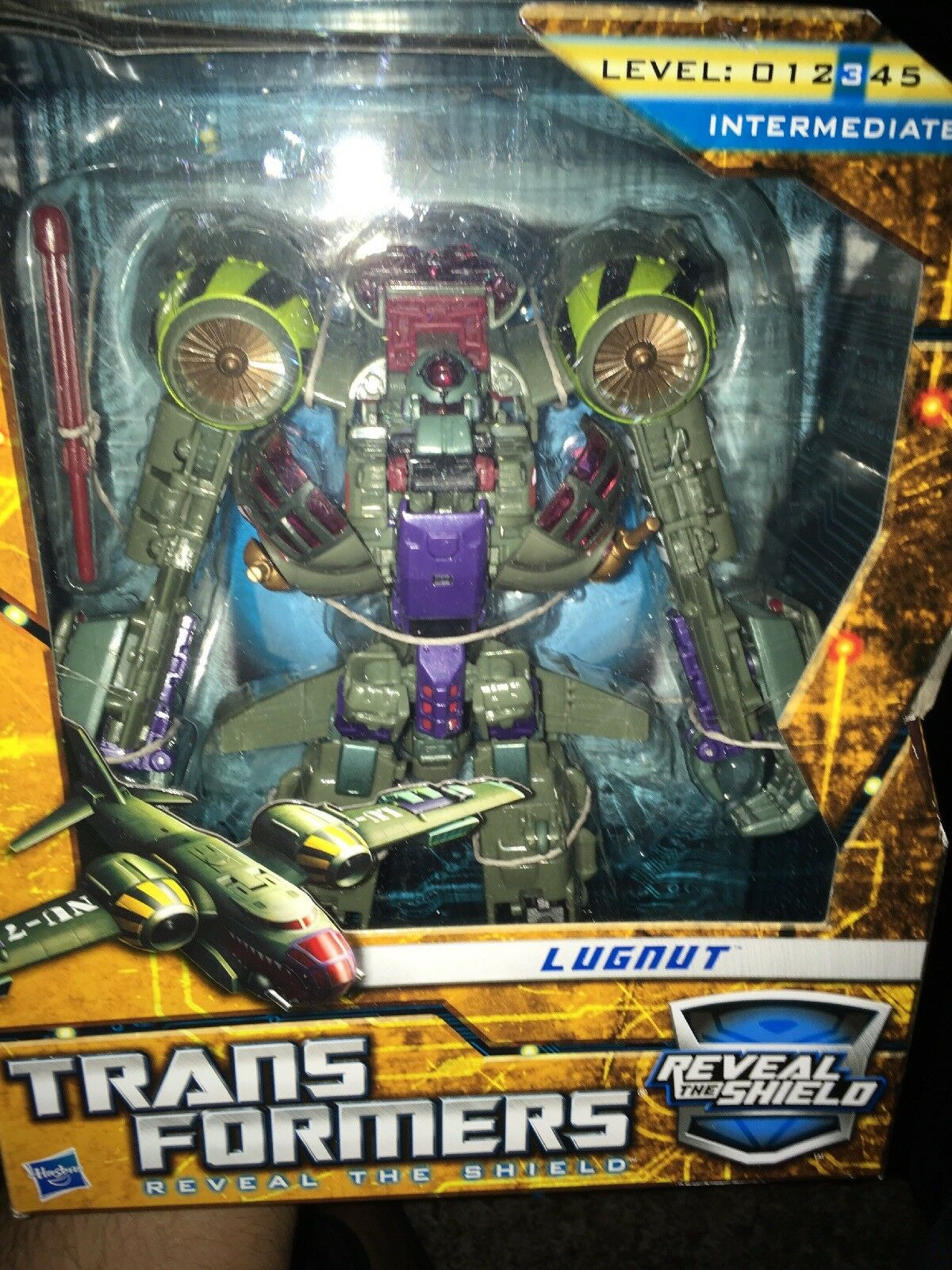 Transformers Hunt For The Decepticons Voyager Class Lungnut MISB Hasbro 2010