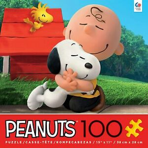 Peanuts-Movie-Snoopy-Circle-Of-Friends-100-pcs-Puzzle-Ceaco-New-with-Box