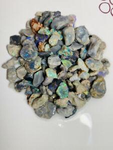 Australian-Rough-Opal-L-Ridge-Knobby-NICE-colours-amp-Potential-360ct-WA1256-Video