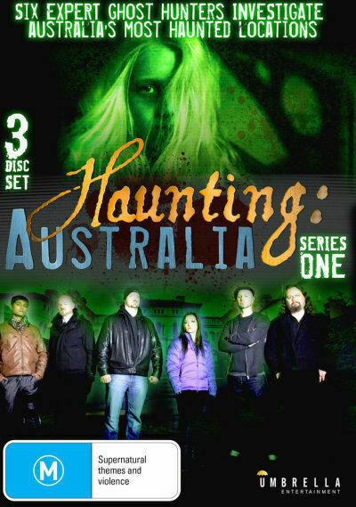 Haunting Australia Series 1 Ghost Hunters 3 Disc Set Supernatural DVD for  sale online   eBay