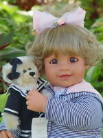 My Twinn Doll Toddler Megan Brown Eyes Blonde Hair Extra Free Outfit