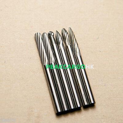 "10 Assortment Solid Tungsten Carbide Burs Drills 3//32/"" Shank PFERD DREMEL"