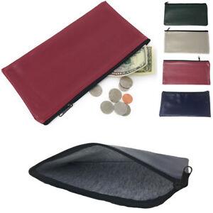 Image Is Loading 1 Dozen Zipper Bank Deposit Carry Pouch Bags