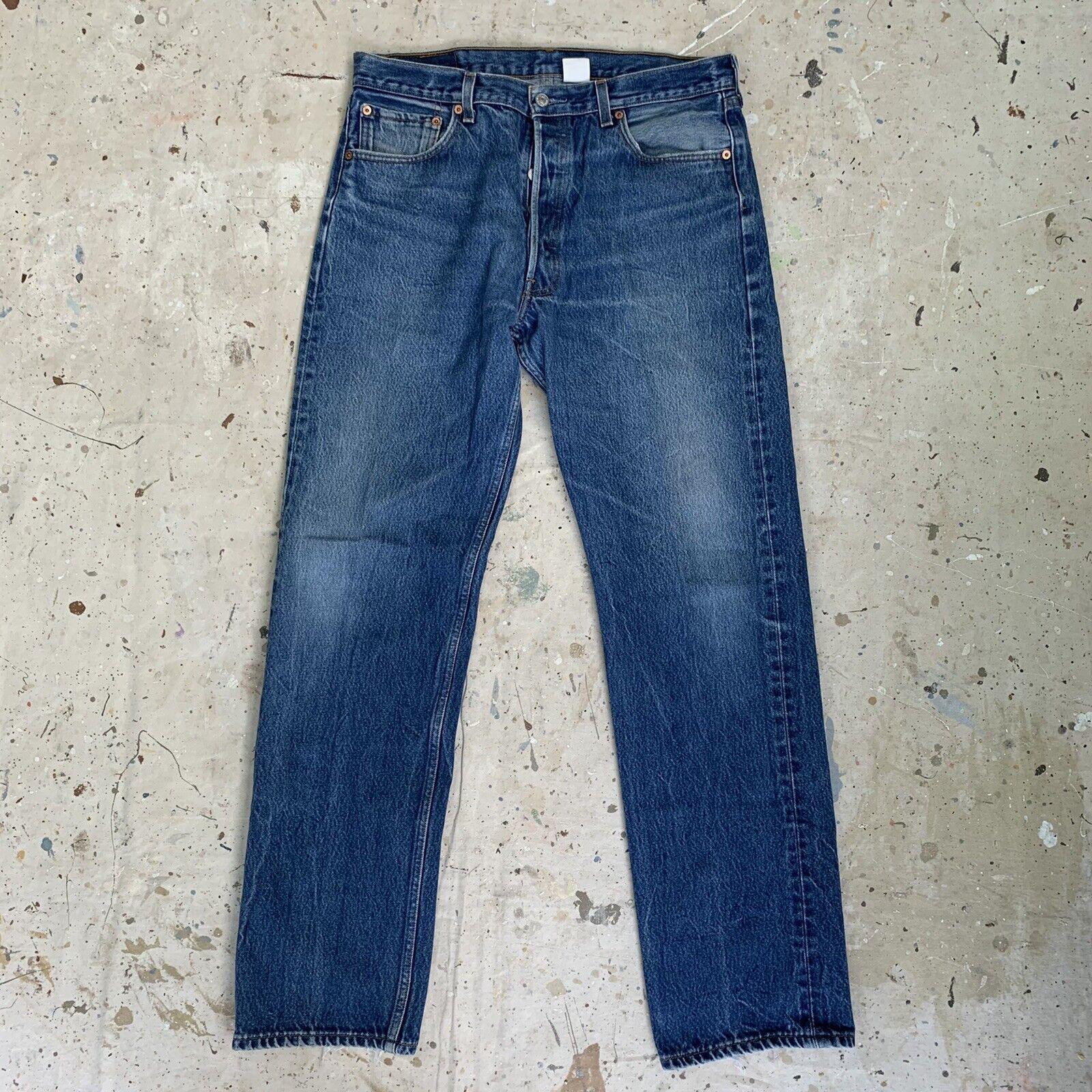 Vintage 90s Levis 501 Jeans Mens 36x36 - image 1