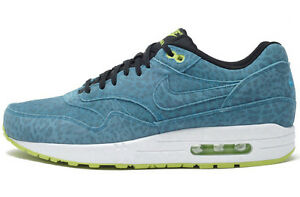 Details zu 2013 NIKE AIR MAX 1 FB BLUE LEOPARD Gr.40 US 7 premium 579920 440 deluxe 90 ice