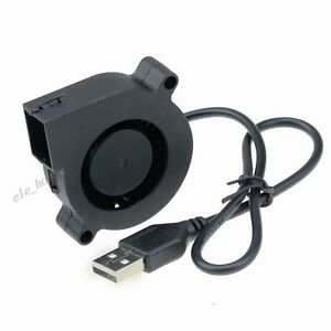 Geblaeseluefter-50mm-USB-LUFTER-Blower-Cooling-Fan-Slient-DC-5V-50x50x15mm-5015S