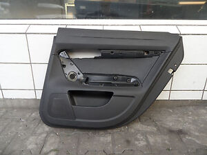 Audi-A6-4F-Pannello-Porta-Posteriore-Destra-4F0867306-pelle-Carenatura-Nero