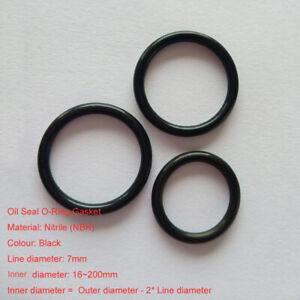 10 Pcs Black Nitrile Rubber O Ring 35mm x 4mm NBR Seals Gaskets