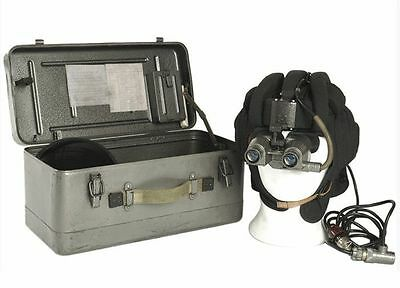 Eastern bloc army surplus vintage night vision goggles and accessories