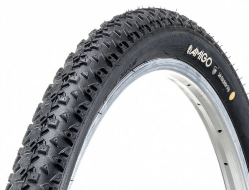 Amigo Bicycle Outer Tire ortem Race 60TPI 28 x 2,00 50-622 Black