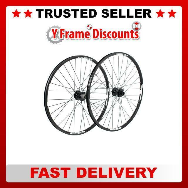 """Tru-build Wheels 29/"""" Rear Disc Wheel 142 X 12mm Mach1 Neuro 29 inch Black"""