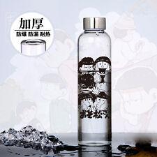 Anime Six Same Faces Mr.Osomatsu San Bottle High Borosilicate Glass Cos Gift MH