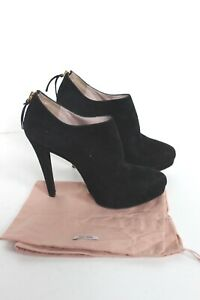 Miu Miu Ankle boots Suede in Black